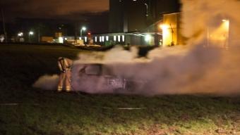 Bilbrand i Tågarp