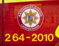 Befarad brand på Glumslövs skola