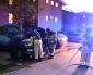 Brandman upptäckte bilbrand