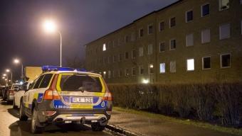 Stor polisinsats på Pilgården