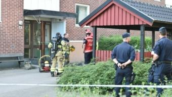 Lägenhetsbrand i Svalöv