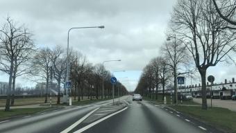 Påkörd person på Hälsingborgsvägen