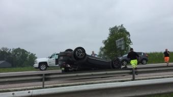 E6: Trafikolycka vid Rydebäck