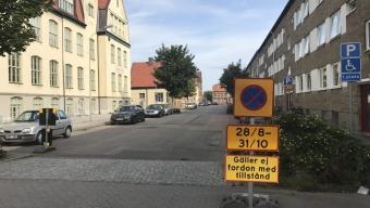 Fabriksgatan stängs av i två månader