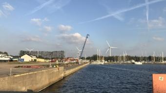 En död i klämolycka i Lundåkrahamnen