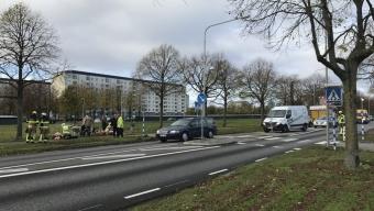 Cyklist påkörd på Hälsingborgsvägen