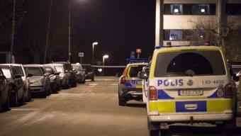 Man skottskadad i Helsingborg