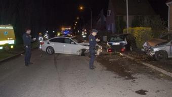Våldsam olycka på Eriktorpsvägen