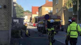 Källarbrand på Timmermansgatan