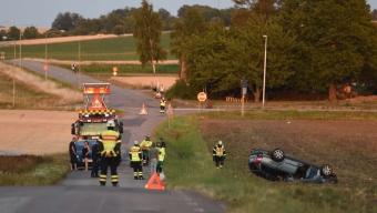 Trafikolycka utanför Härslöv