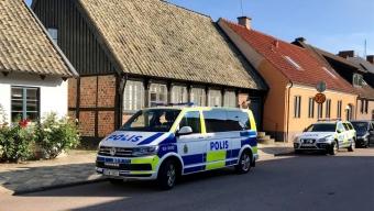 Inbrott avbröts av polis – två män greps på plats