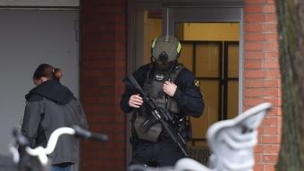 Stor polisinsats på Borgmästargatan