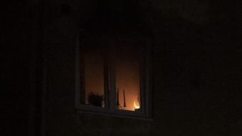 Lägenhetsbrand på Gjörloffsgatan – en person skadad