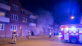 Lägenhetsbrand på Föreningsgatan