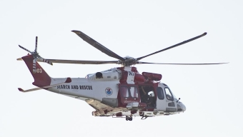 Räddningshelikopter sökte utanför Landskrona