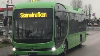 Landskronas nya elbussar