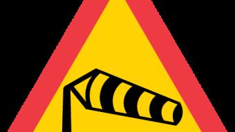 Varning för stormbyar – tåg inställda