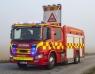 Brand i klubbstuga släcktes av privatperson