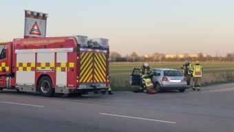Trafikolycka på Ringvägen