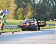 Flera till sjukhus efter trafikolycka
