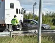 Trafikolycka på Österleden